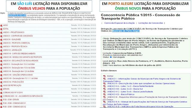 Tudo como dantes no quartel de Abrantes: As mesmas empresa, os mesmos esquemas vão continuar nos transportes coletivos de São Luís.
