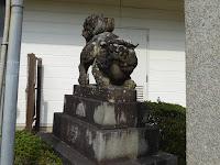 四條畷神社 狛犬