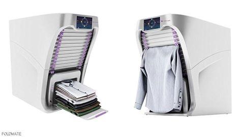 امريكا تصنع جهاز مبتكر يطوي ملابسك في دقيقة واحدة