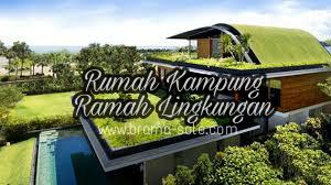 Rumah Kampung Ramah Lingkungan