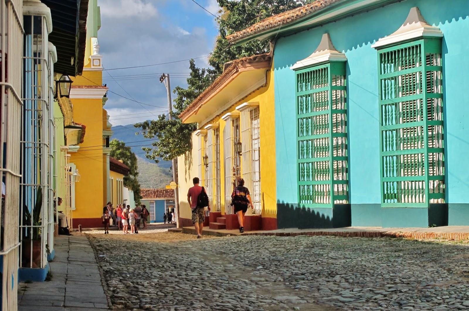 Centro histórico de Trinidad, em Cuba.