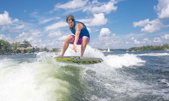Water Sports Require Lots of Energy