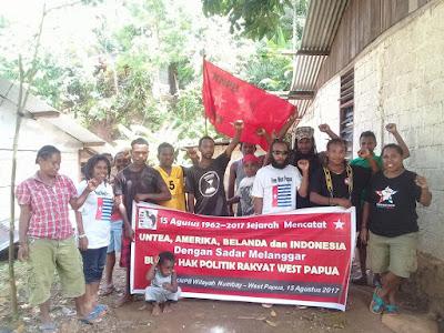 KNPB Wilayah Numbay : Pelanggaran Hak Politik Bangsa Papua