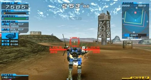 Download Armored Core: Formula Front Extreme Battle - PPSSPP