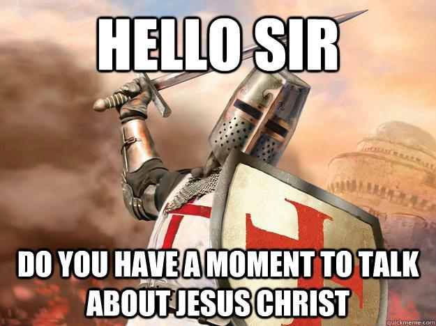 Crusade Evangelism Meme Picture
