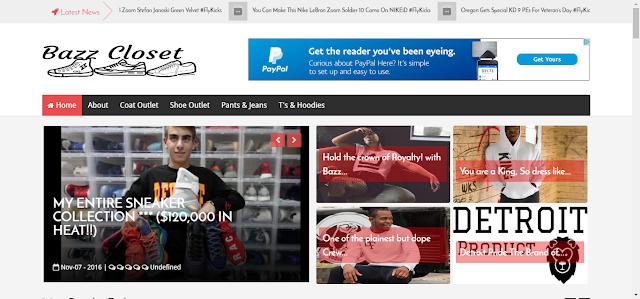Fashion publishing site Bazz Closet