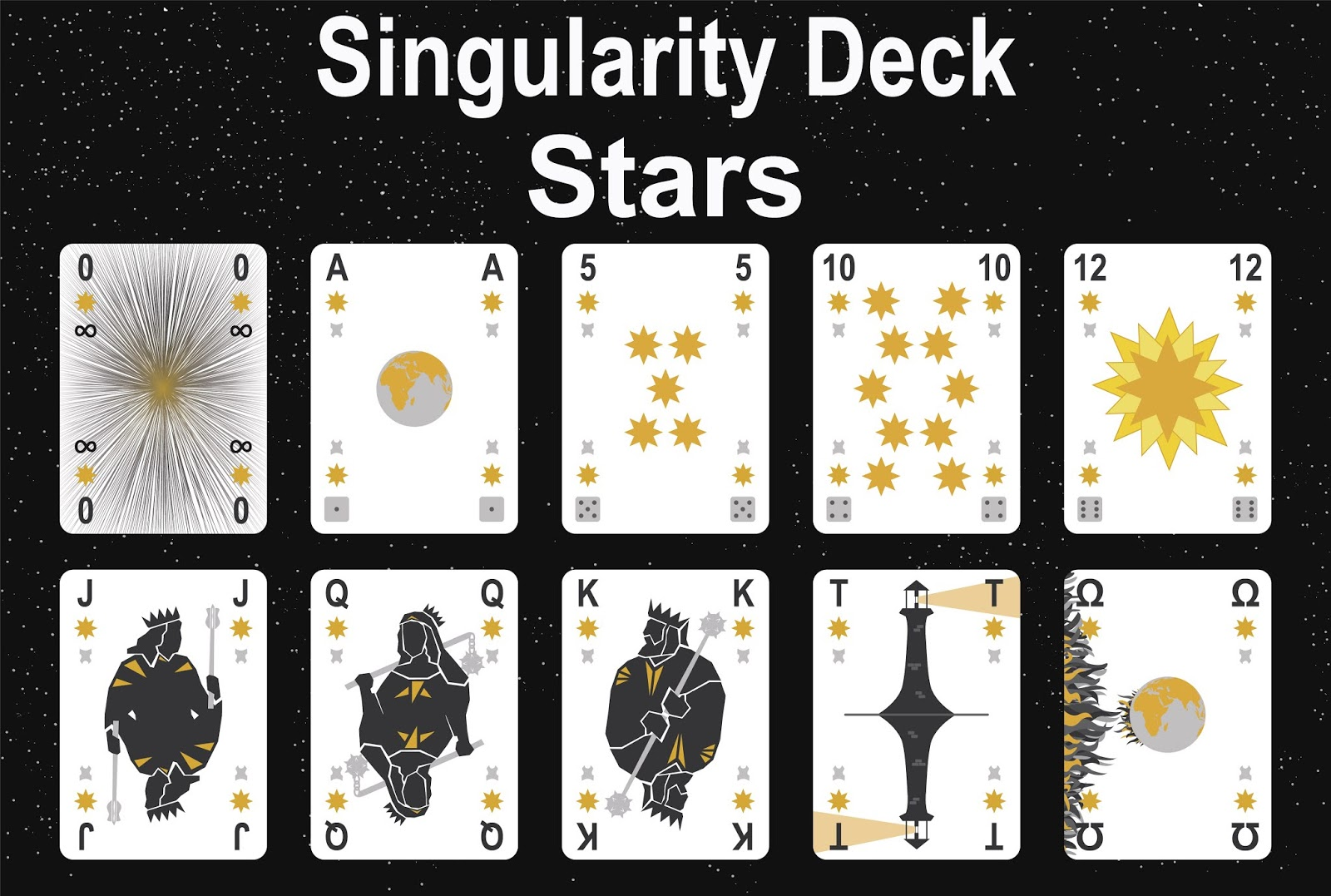 The Singularity Deck - Stars Art