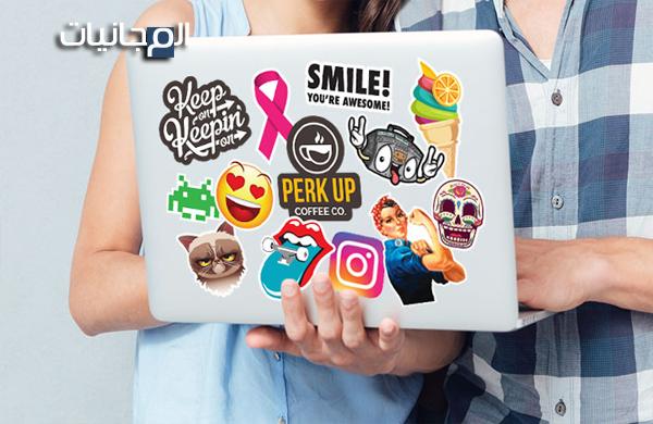 احصول على ملصقات جميلة من شركة stickeryou مجانا و إلى باب منزلك