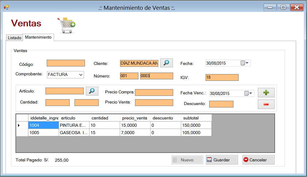 669de2c085775 Diseño Sistema de Ventas C  - Visual Studio 2013 y Sql Server 2014 (39-41)  Bakup BD