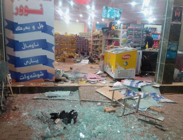 Forte terremoto no Iraque e Ira e sentido em Israel