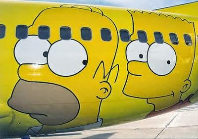 graffiti en aviones