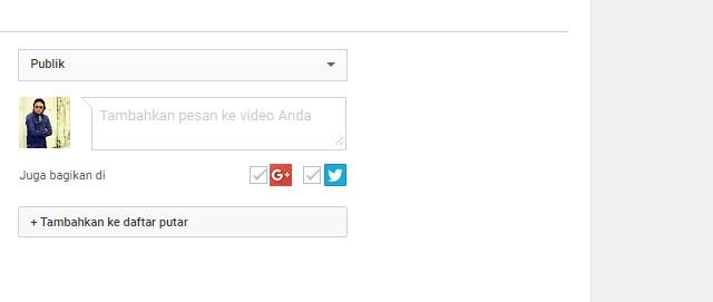 cara upload video di youtube dengan benar