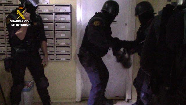 Imágenes de la Operacion. Guardia Civil