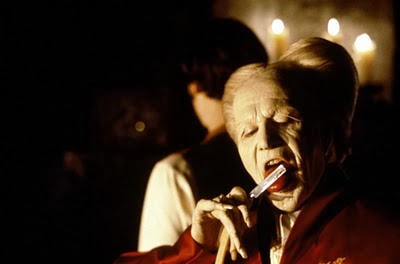 Gary Oldman as Dracula, in Dracula, directed by Francis Ford Coppola