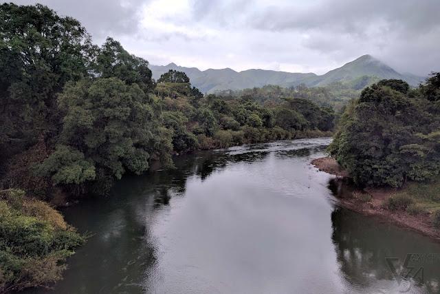 Bhadra river bridge, Kudremukha