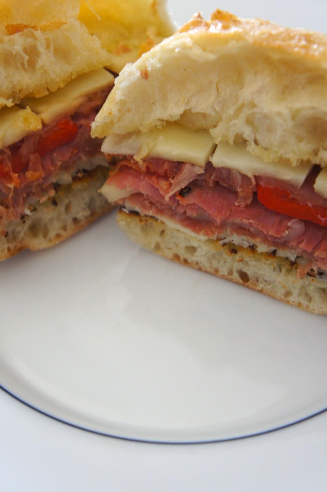 Italian Sandwich: Savory Sweet and Satisfying