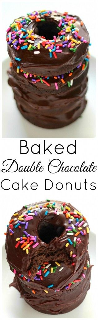 Double Chocolate Cake Donuts Recipe