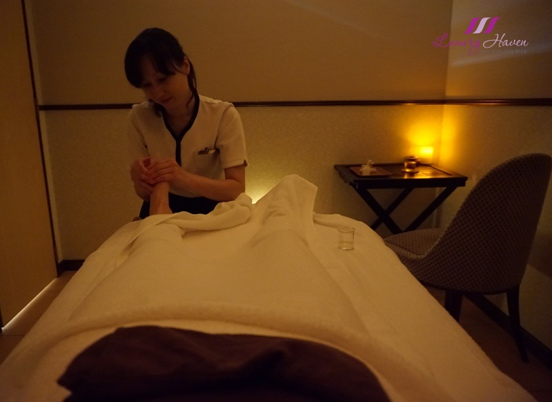 grand phyto nature foot massage hilton tokyo bay review