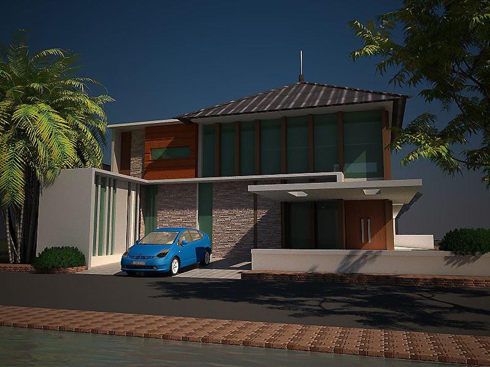 current residence design Modern - Indonesia Modern House Design
