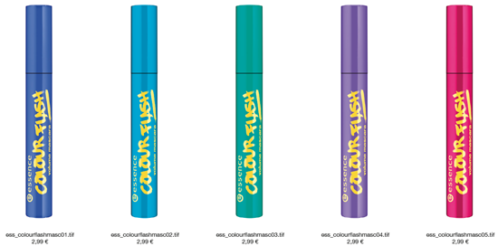 Essence Colour Flash Volume Mascara