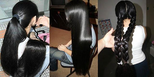 ¿Quieres crecer el pelo extra largo con sólo 2 ingredientes? ¡Pruebe esto desde hoy!