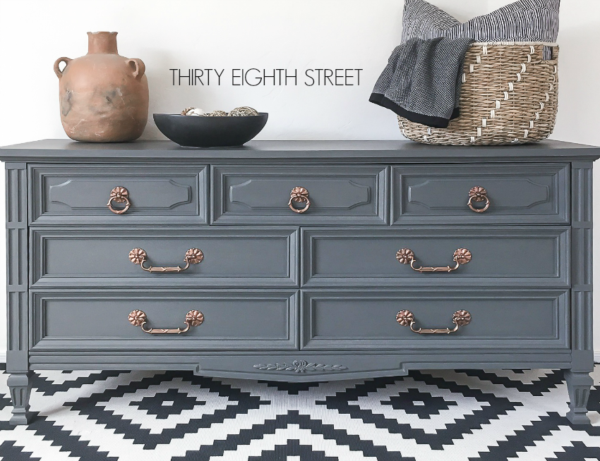 Chalk Paint Painted Furniture Ideas Grey