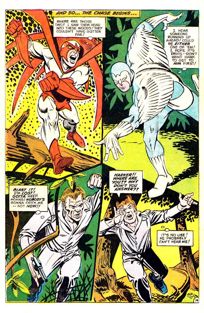 Hawk and the Dove v1 #2 dc comic book page art by Steve Ditko