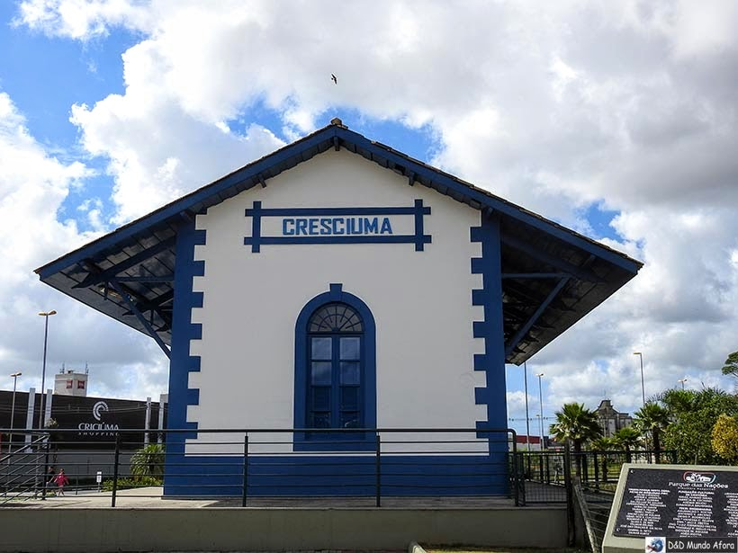 O que fazer em Criciúma - Parque das Nações