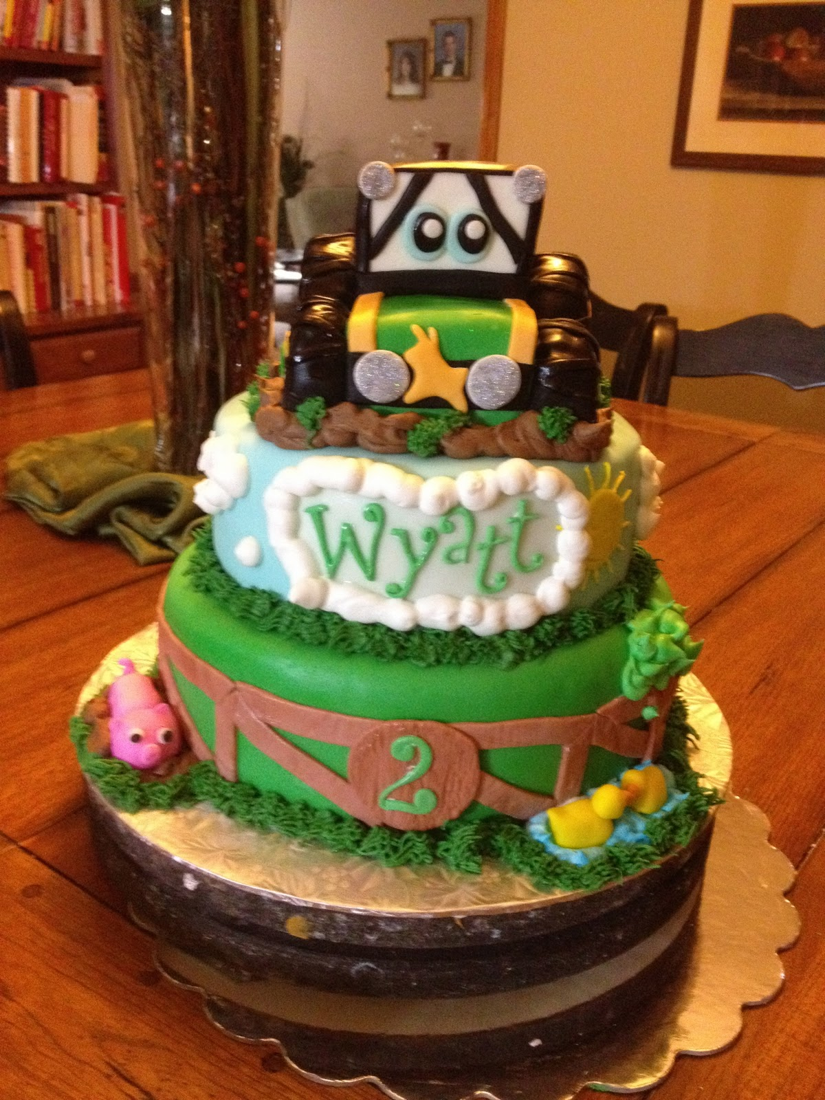 Learning To Fly Cakes And Pastries John Deere Cake For Wyatt