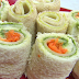 Roll ups Bread Sushi