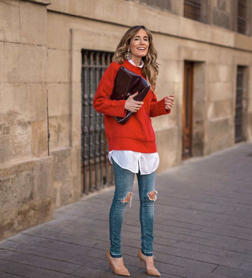 Spring Sweaters Are the Perfect Layering Piece to Wear Now