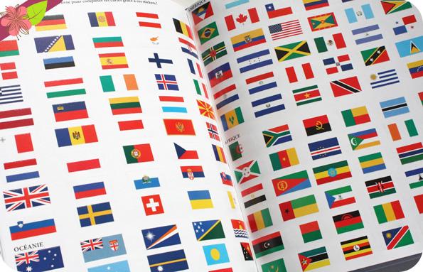 Le grand livre des drapeaux d'Emmanuelle Kecir Lepetit et Claire Wortemann - Deux Coqs d'or