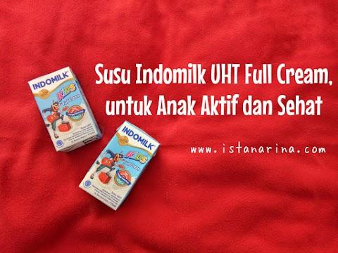 Susu Indomilk UHT Kids Full Cream, untuk Anak Aktif dan Sehat