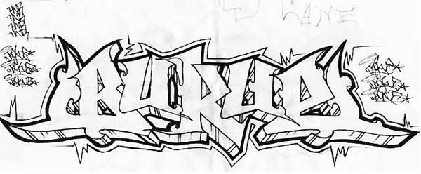 Graffiti Blackbook Sketches 4 Letters Bukue
