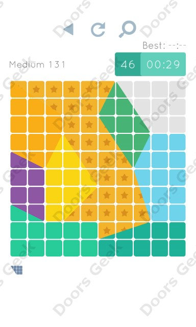 Cheats, Walkthrough for Blocks and Shapes Medium Level 131