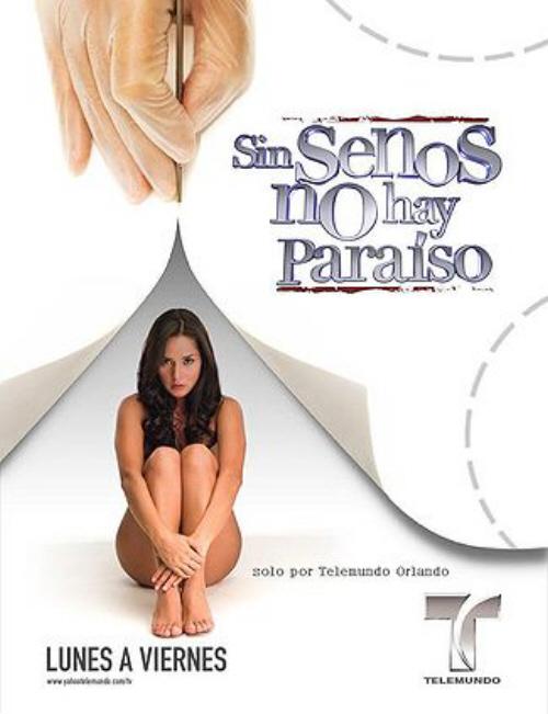 Sin senos no hay paraíso (Serie Completa) HD 720p