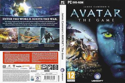 Jogo James Cameron's Avatar: The Game PC DVD Capa