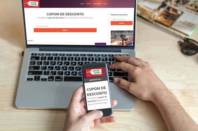 Economize nas compras online! Use cupons de desconto e poupe seu dinheiro!
