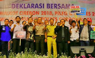 Kapolda Jabar, PSU Kota Cirebon Tidak Boleh Ada Intervensi Dari Siapapun