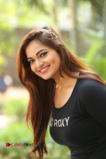 Actress Aswini Latest Stills in Black Denim Jeans  0119.JPG
