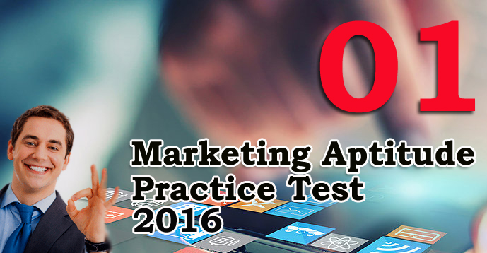 Marketing Aptitude Practice Test - 01
