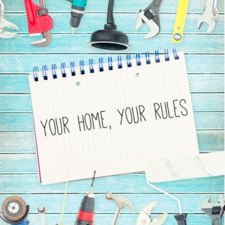house rules, blended family rules, step family, stepmom, car rules, visiting at another friend's house rules, rules of the house,