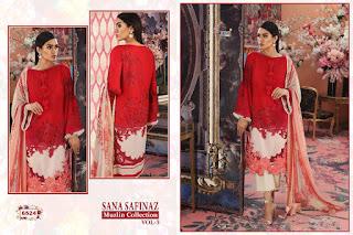 Shree fab Sana Safinaz Muzlin Collection vol 3 Pakistani Suits