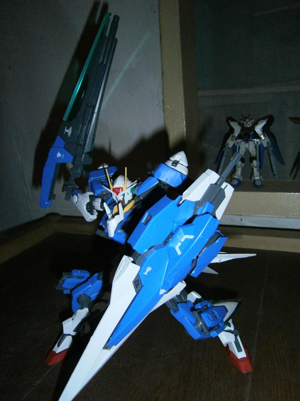 00 Gundam Seven Sword Mg Review Part 2 Gundam3r