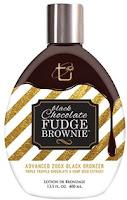 Tan Incorporated Black Chocolate Fudge Brownie 200X Black Bronzer