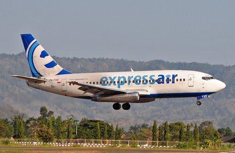 Express Air Boeing 737-200 PK-TXD
