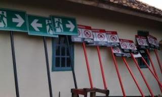 pabrik safety sign palembang - rambu K3 - jual rambu rambu
