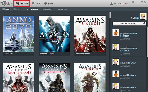 Uplay Accounts With Games[Assassin's Creed ,Far Cry,WATCH_DOGS