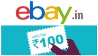 Ebay Rs. 100 Off On Rs. 200 + 1% Off