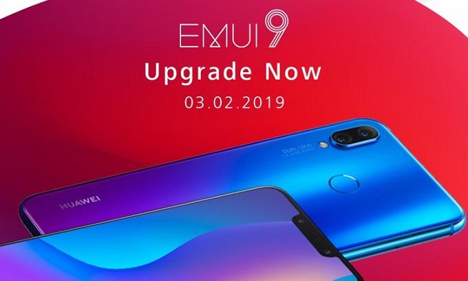 Huawei Nova 3i EMUI 9 Update